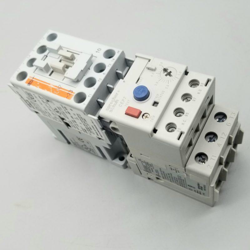 For Sale  Sprecher Schuh Ca7  Overload Relay Cep7