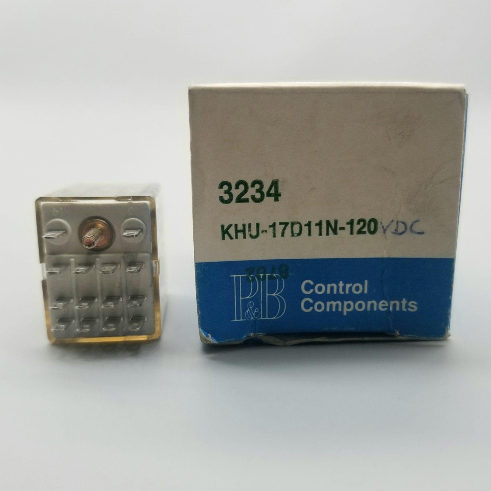 Potter & Brumfield KHU-17D11N-120 VDC Plug In Relay 120-VDC