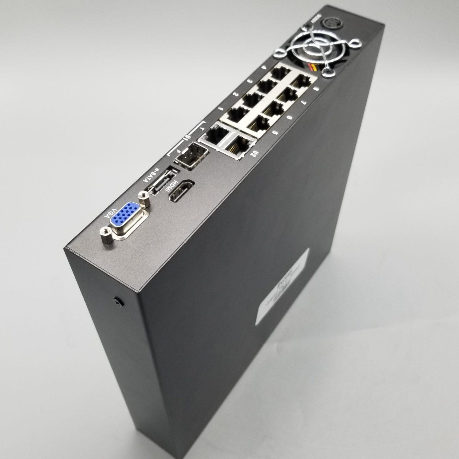 Razberi MPro Series ServerSwitch (8 Port) Core-i3-3220, 4 TB – RAZ-MPR08-I3-4T